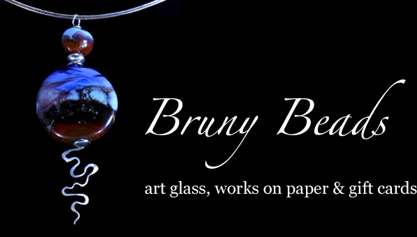 Bruny Beads. Art glass, works on paper and gift cards