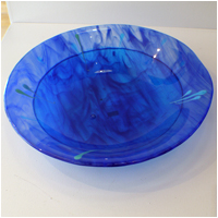 Blue Salad Bowl